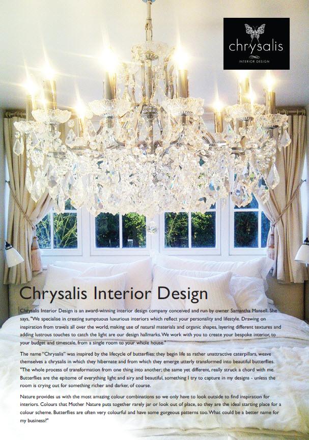 Chrysalis Blog Chrysalis Interior Design